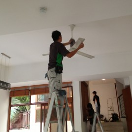 Sanitising Spring Cleaning service