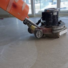 Marble & tiled floor polishing